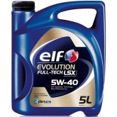 Масло моторное Elf Evolution FullTech LSX 5W40 / 5л. / (ACEA C3, API SN/CF, VW 502.00 / 505.01)